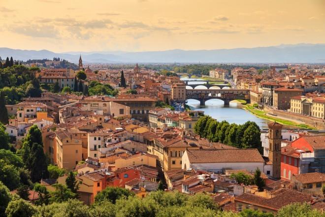 Firence so že 10. leto zapored najboljša evropska destinacija.