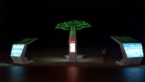 Pametne palme v Dubaju