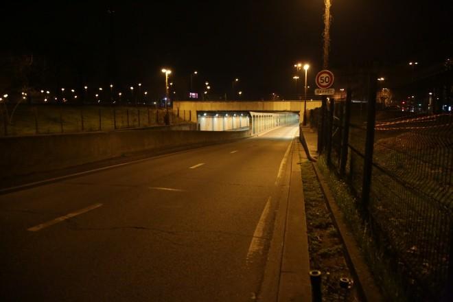Tunel, kjer se je zgodila tragična nesreča.