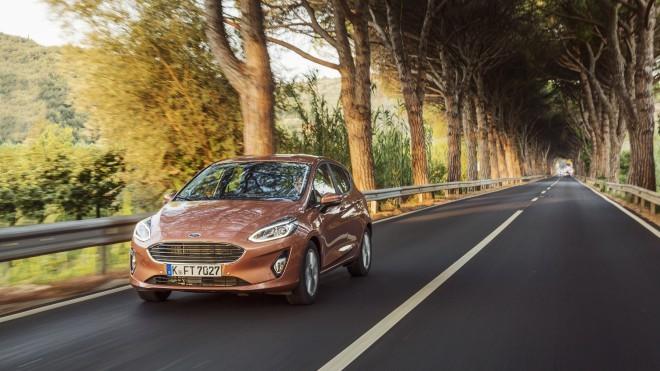 Nova Ford Fiesta - rojena za slovenske ceste.  Foto:  Magnus Roaldset Furset