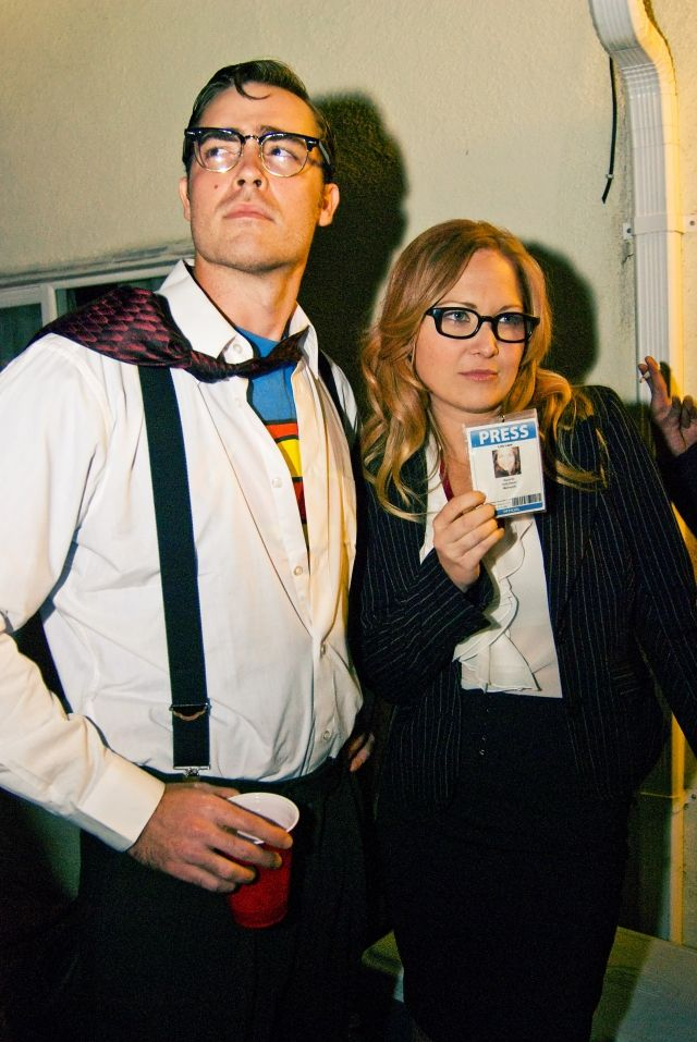 Superman in Lois Lane