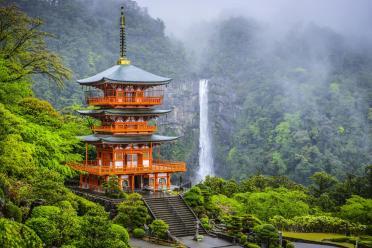 5. Kii Peninsula, Japonska