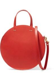 Usnjena torbica Clare V.