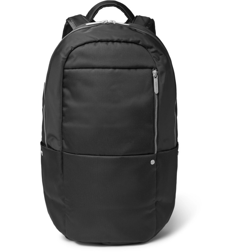 15. NN07 CANVAS AND SHELL BACKPACK