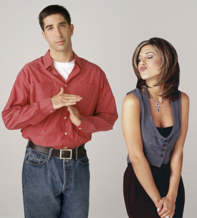 Jennifer Aniston in David Schwimmer