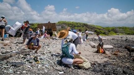 Postopek zbiranja plastike