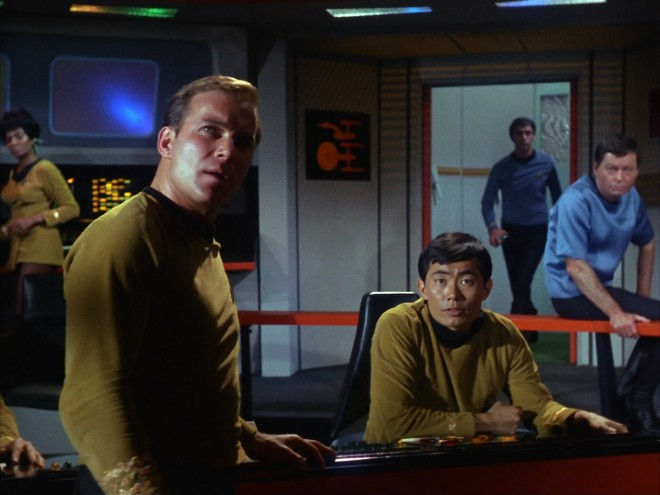 William Shatner in George Takei