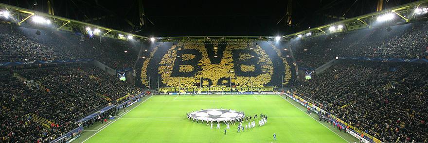 Signal Iduna Park, Dortmund.