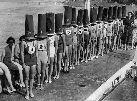 1936: Tekmovanje za najlepše noge