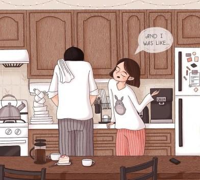 Ilustracije parov.