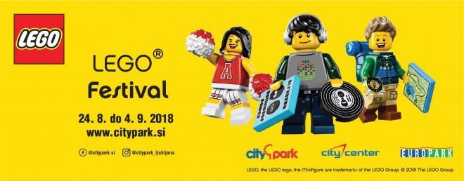 Največji Lego festival vas bo zabaval od 24. 8 do 4. 9.