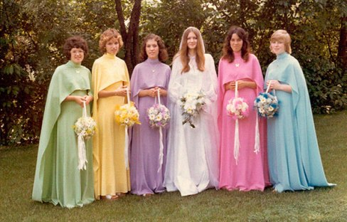 Vintage obleke družic