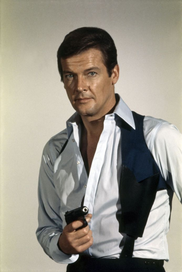 1973: Roger Moore