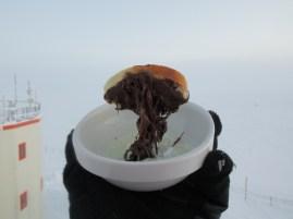 Kuhanje na Antarktiki pri –70 °C? Zakaj pa ne!