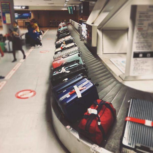 Verjetno najbolj organizirano razporejene potovalke.