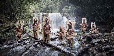 Slapovi Mount Bosavi, Papuanska Nova Gvineja