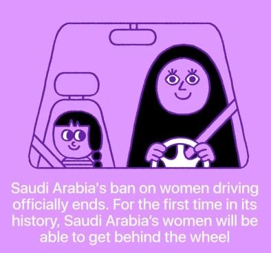 Ženske v Savdski Arabiji lahko končno upravljajo z vozilom.