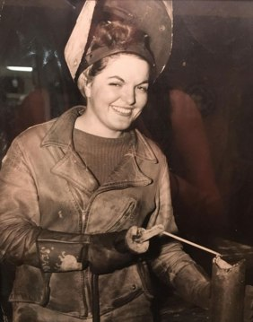 """""""Moja babica je delala kot varilka med drugo svetovno vojno."""""""