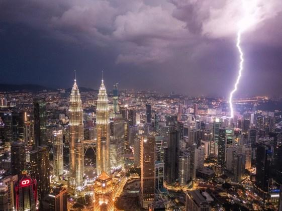 Strela v Kuala Lumpurju