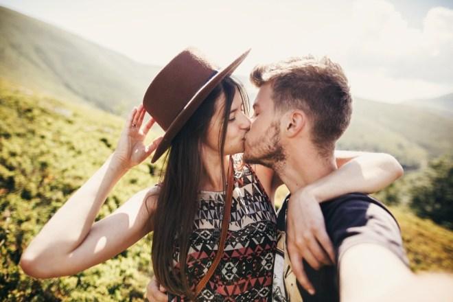 Najbolje je, da simpatijo poljubite, ko zaključita z zmenkom.