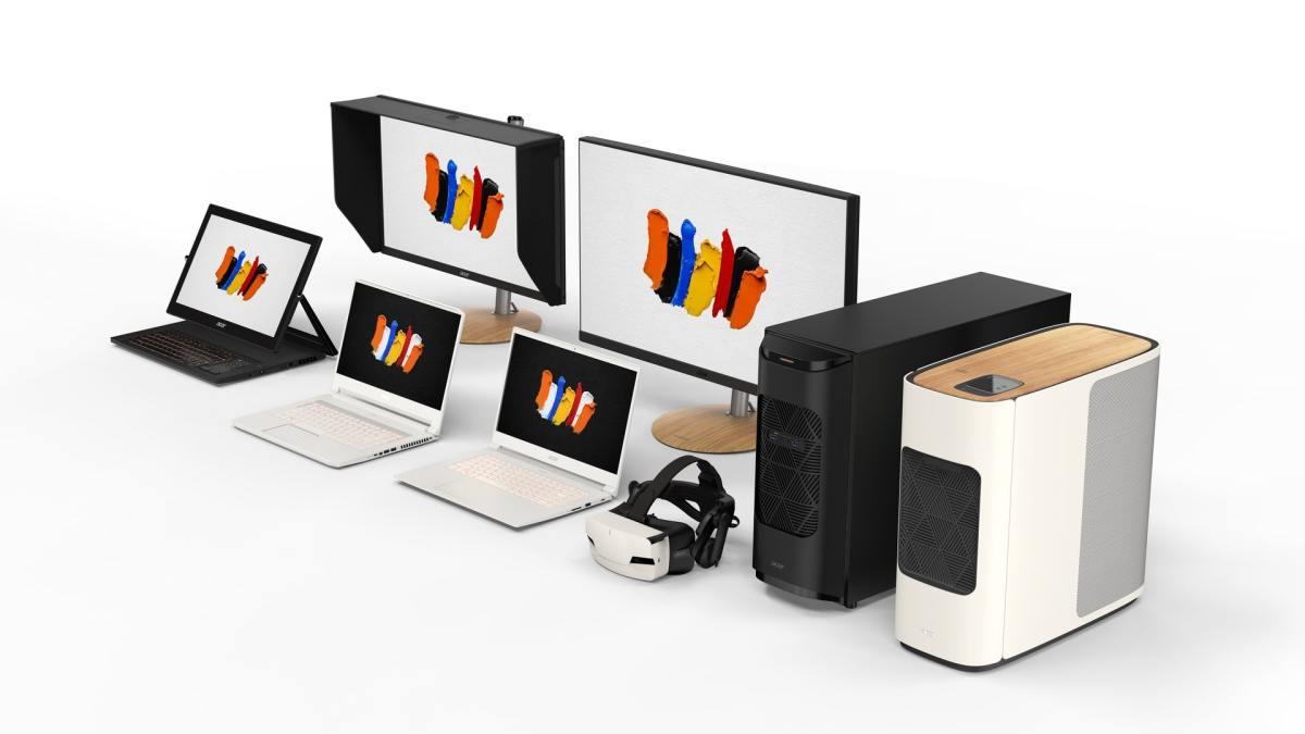 Družina Acerjevih tehnoloških naprav ConceptD