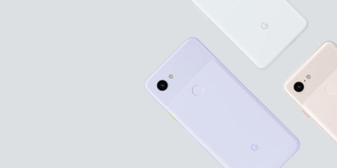 Večji in manjši - Google Pixel 3a