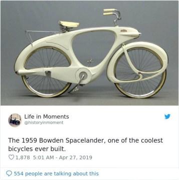 Bowden Spacelander (1959), eno najbolj kul koles, ki so jih kadarkoli naredili.