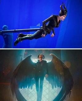 Pred in po vizualnih efektih v filmu Zlohotnica