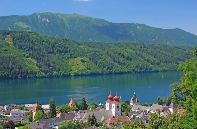 Milštatsko jezero (Millstätter See)