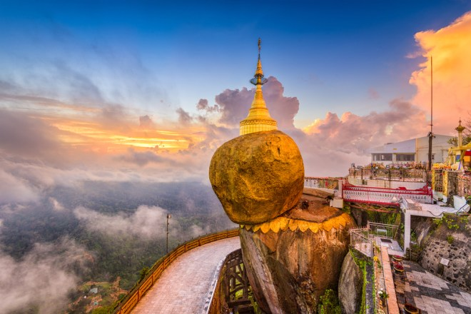 Zlata skala v Myanmarju