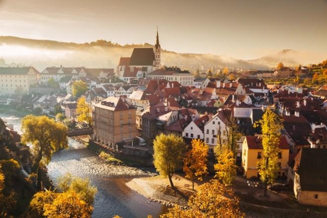 Česky Krumlov, Češka