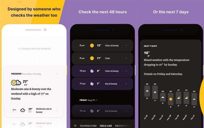 Aplikacija Appy Weather