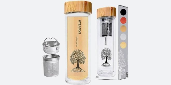 Steklenička za čaj Amapodo (400 ml)