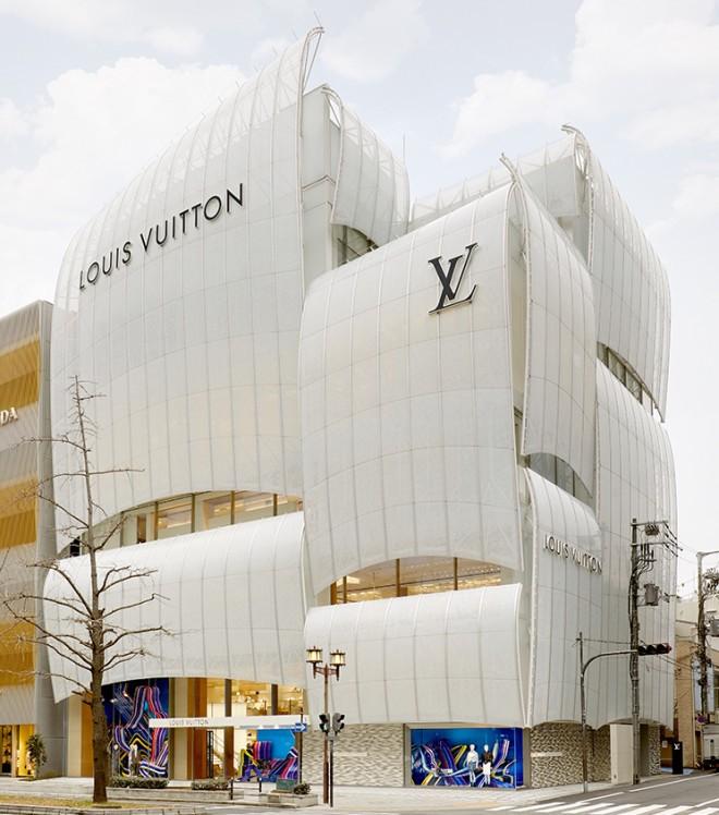 Louis Vuitton v Osaki na Japonskem