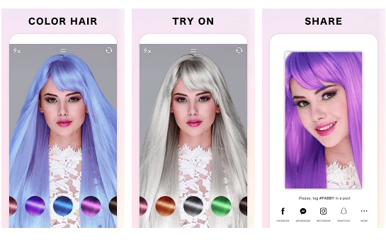 Fabby Look – Hair Color Editor