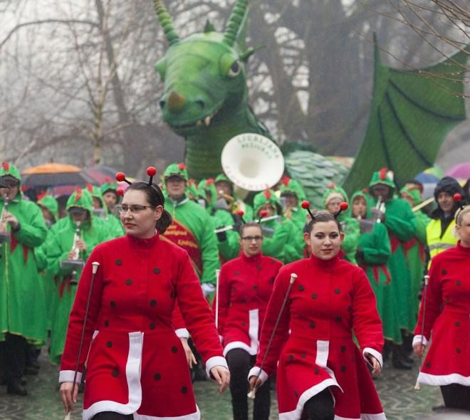 Zmajeva karneval v Ljubljani (Foto: Visit Ljubljana / Miha Fras)