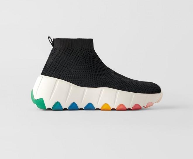 Superge v stilu nogavic / Zara