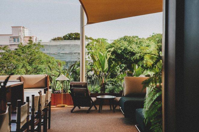 Vintage Hotel in spa v Lizboni ima eno najlepših teras v mestu.