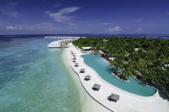 Resort Amilla Fushi na Maldivih