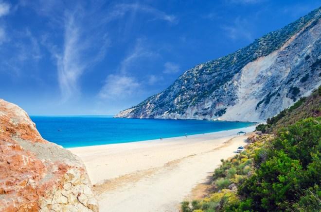 Myrtos, Kefalonija, Grčija