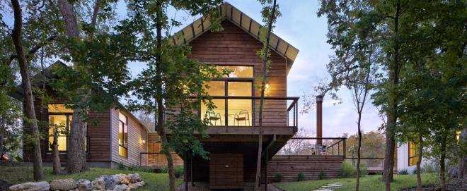 Lake|Flato, Porch House