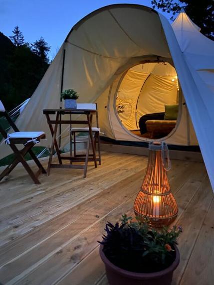 Glamping Gozdna Jasa (Foto: Booking.com)