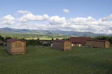 Kamp in glamping Sunrise Hill (Foto: Booking.com)