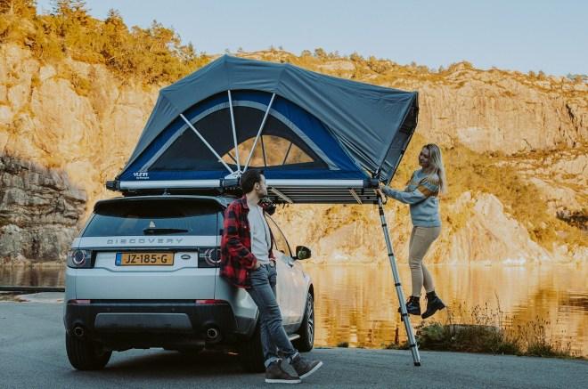Sheepie Yuna Family - strešni šotor