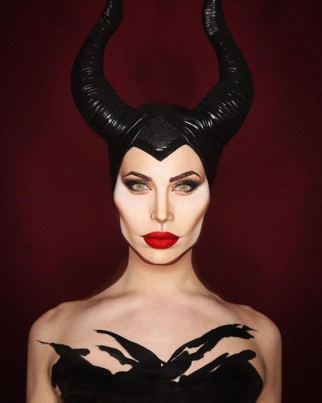Alexis Stone kot Angelina Jolie v Zlohotnici (Foto: IG @thealexisstone)