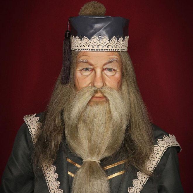 Alexis Stone kot Albus Dumbledore (Foto: IG @thealexisstone)