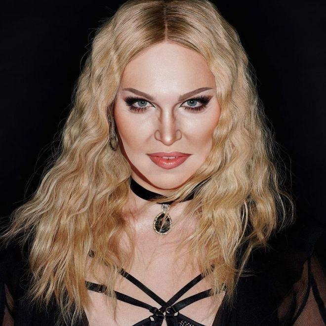 Alexis Stone kot Madonna  (Foto: IG @thealexisstone)