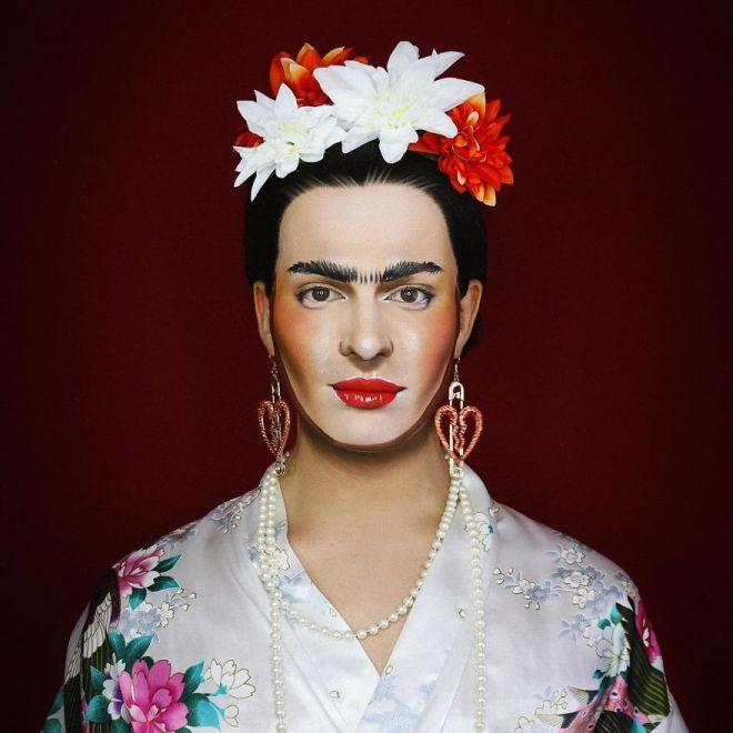 Alexis Stone kot Frida Kahlo (Foto: IG @thealexisstone)