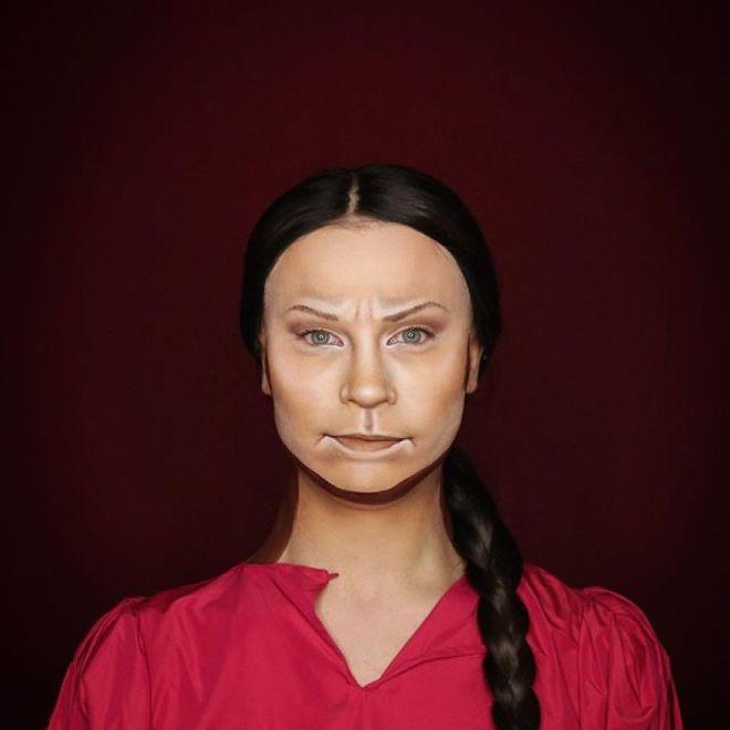 Alexis Stone kot Greta Thunberg (Foto: IG @thealexisstone)