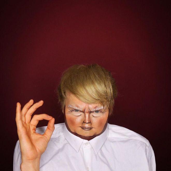 Alexis Stone kot Donald Trump (Foto: IG @thealexisstone)